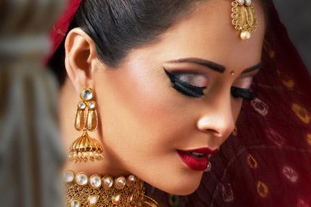مدل آرایش هندی 10
