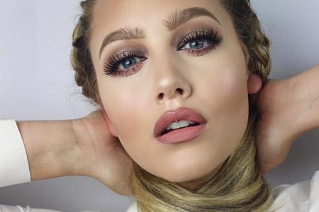 مدل آرایش صورت و زیبایی 10