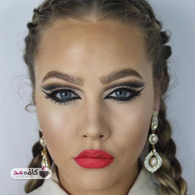 مدل 2016 آرایش صورت