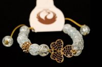 مدل دستبند سنگ و طلا