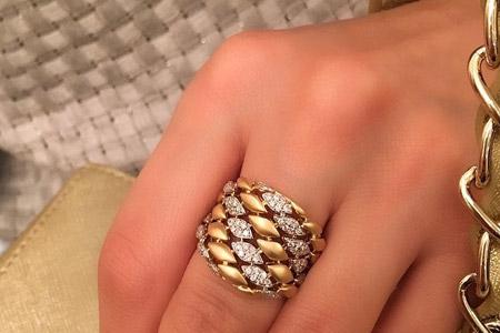مدل طلا و جواهرات ایرانی Golestan 13