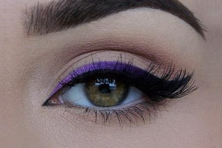 مدل خط چشم چند رنگ