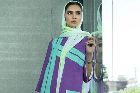 مدل مانتو ایرانی Organza 11