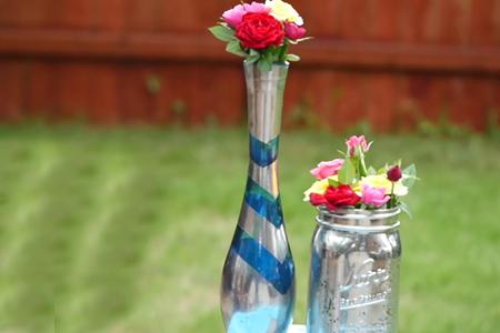 فیلم آموزش تزیین گلدان