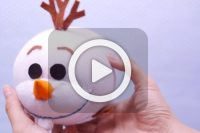 فیلم ساخت Frozen با جوراب