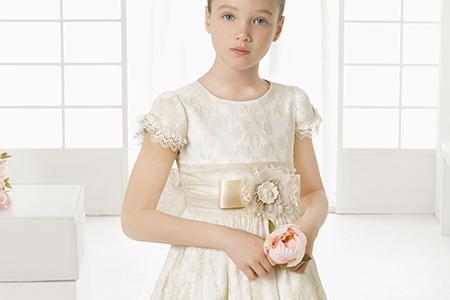 مدل لباس عروس دخترانه Rosaclara 10