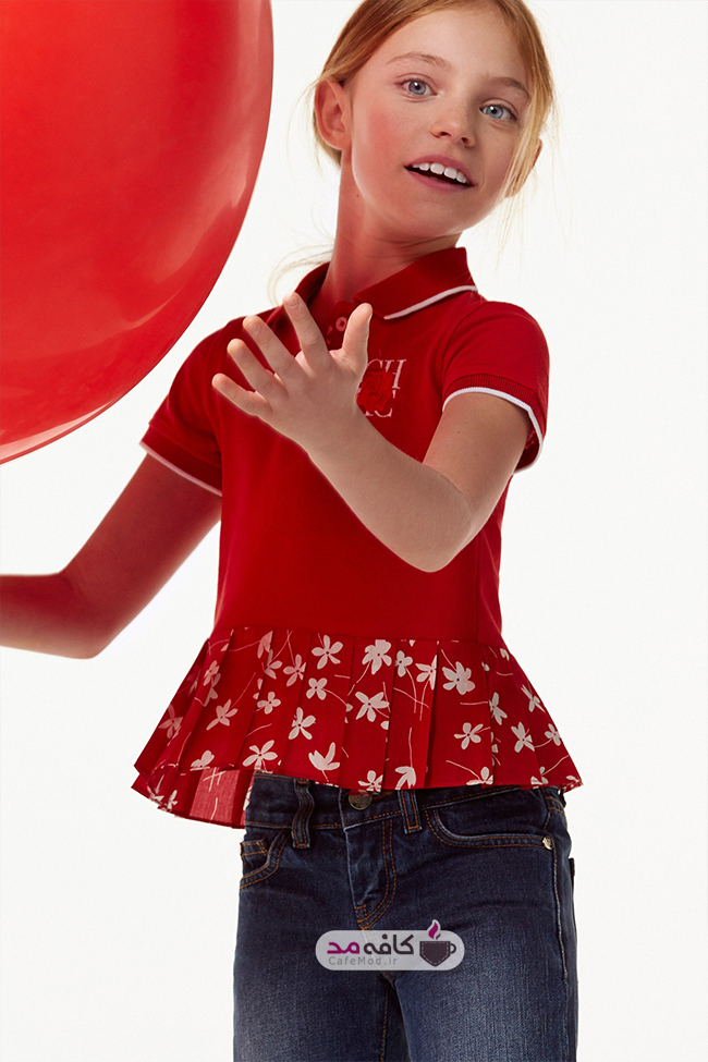 مدل لباس کودک پاییزه Carolinaherrera