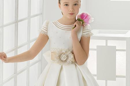 مدل لباس عروس دخترانه 5