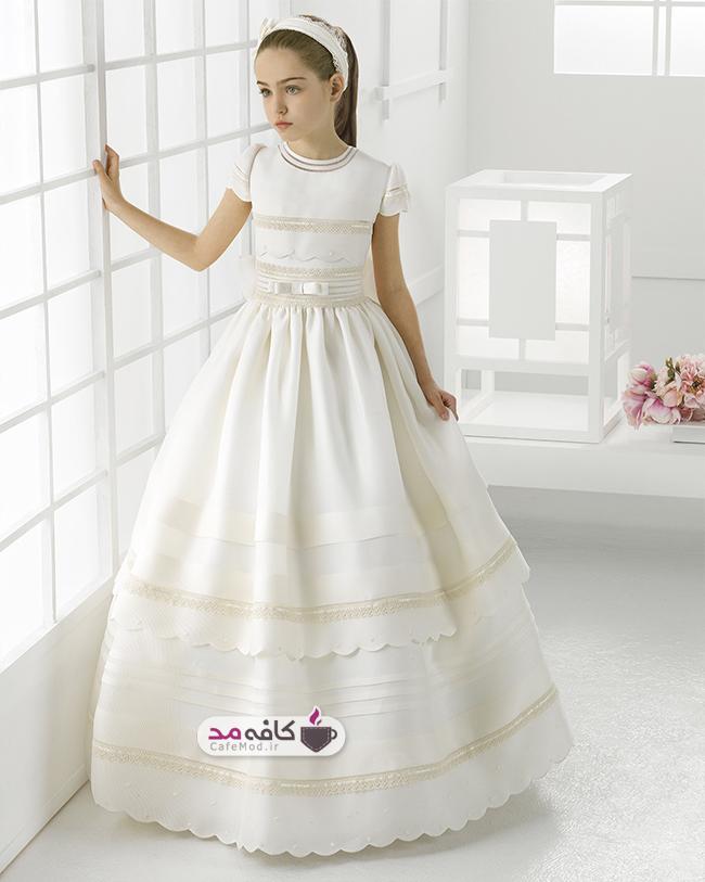 مدل لباس عروس دخترانه Rosaclara