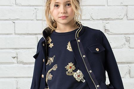 مدل لباس پاییزه مجلسی دخترانه 10