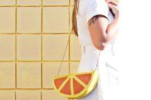 آموزش تصویری دوخت کیف پرتقالی