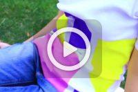 فیلم آموزش طرح مثلثی روی تیشرت