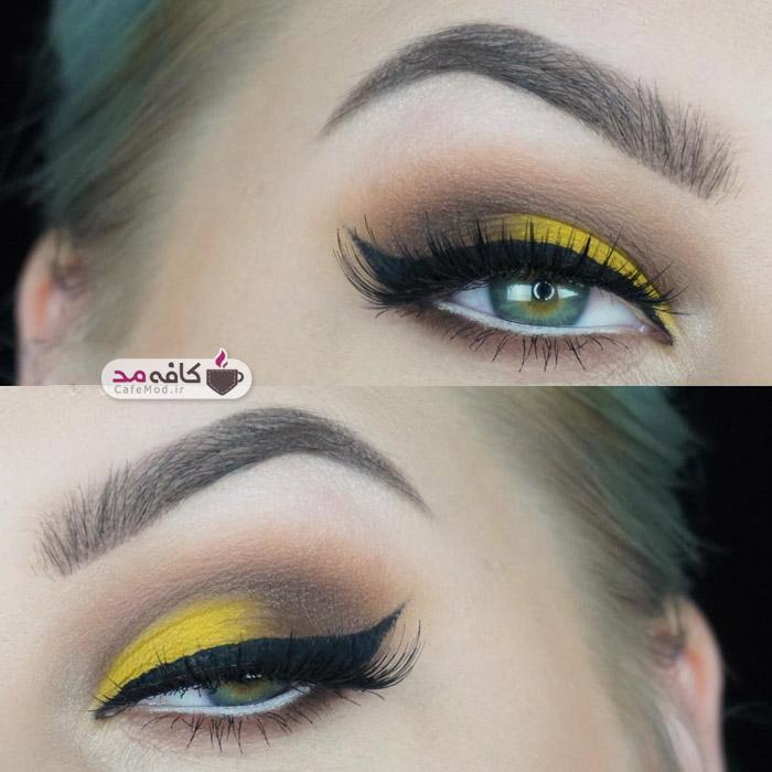 مدل میکاپ و آرایش چشم