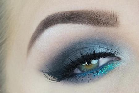 مدل سایه و آرایش چشم 13