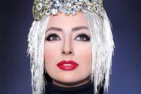 مدل آرایش Shirin Moghaddam