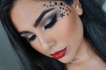 مدل آرایش Adila Khalid