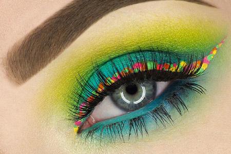 مدل آرایش چشم 2016 11