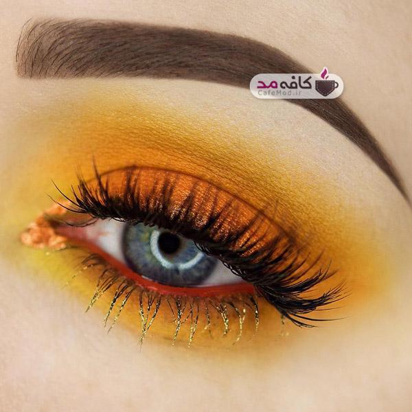 مدل های مختلف آرایش چشم