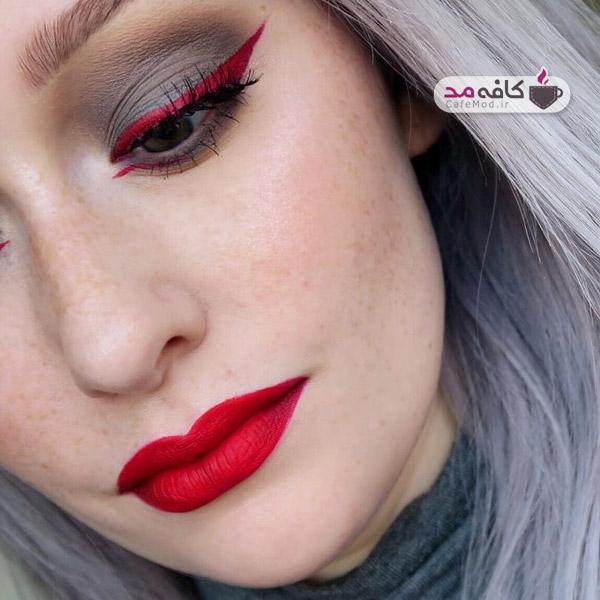 مدل هایی برای آرایش چهره
