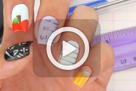 فیلم طراحی ناخن جدید