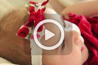 فیلم درست کردن هدبند نوزاد
