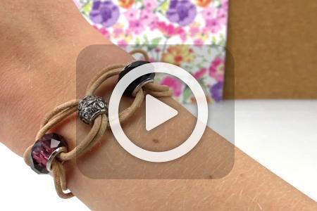 فیلم آموزش ساخت دستبند چرمی