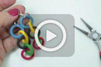 فیلم آموزش گوشواره المپیک