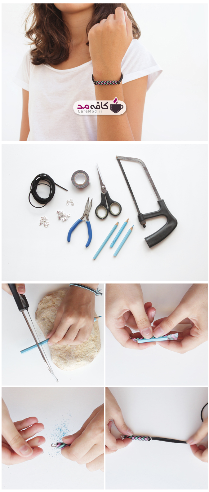 آموزش تصویری ساخت دستبند