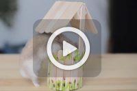 فیلم ساخت چاه آب با چوب بستنی