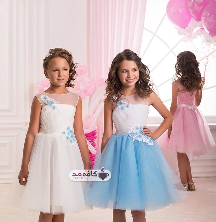 مدل لباس مجلسی دخترانه Silviamo