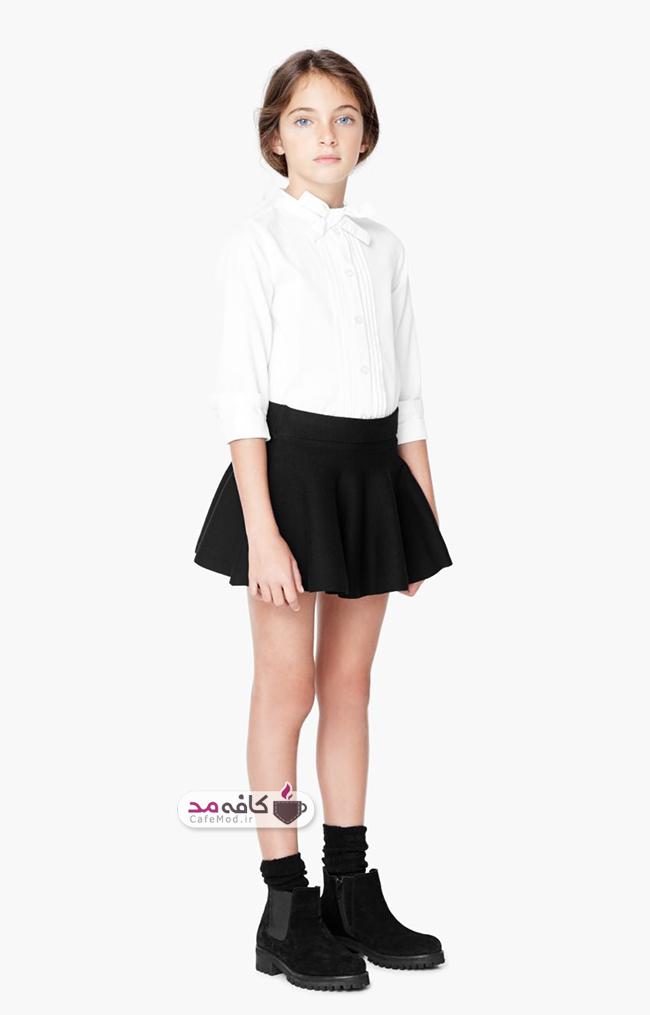 مدل لباس دخترانه Mango
