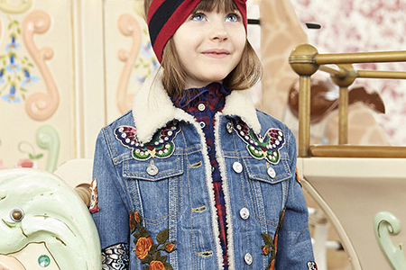 مدل لباس دخترانه Gucci 10