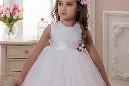 مدل لباس عروس پفی دخترانه 10