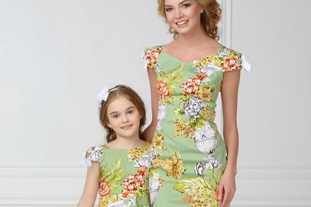مدل ست مجلسی مادر و دختری 10