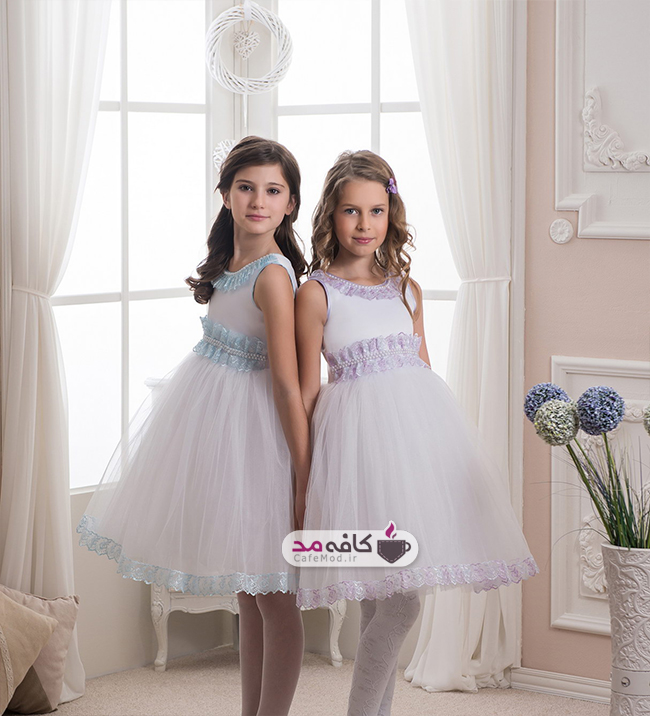 مدل لباس عروس دخترانه Elizabride