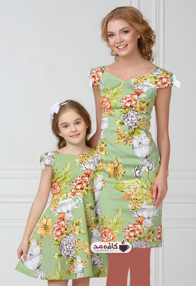 مدل ست مجلسی مادر و دختری