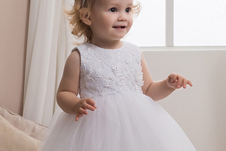 مدل لباس عروس دخترانه 10