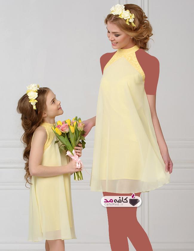 مدل ست مادر و دختری Marka