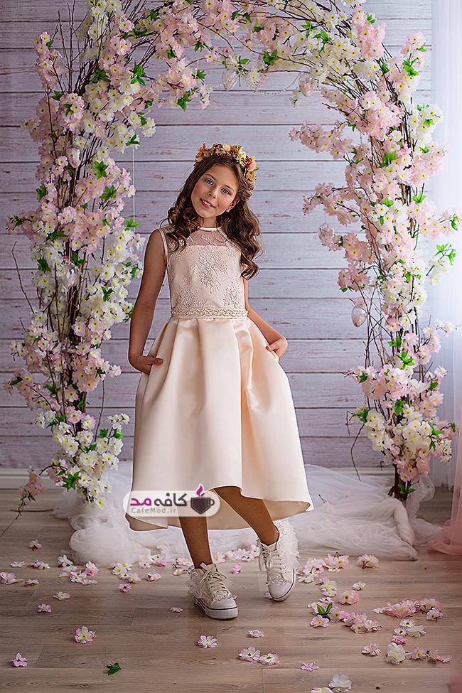 مدل لباس مجلسی دخترانه Valentina Gladun