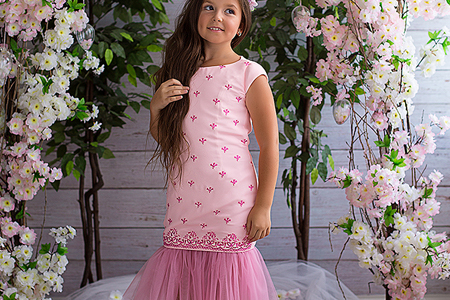 مدل لباس مجلسی دخترانه 8