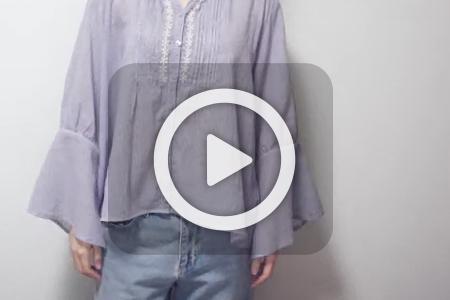 فیلم تغییر ظاهر پیراهن زنانه