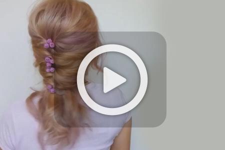 آموزش بافت موی رمانتیک