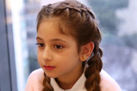 آموزش بافت مو دخترانه 2