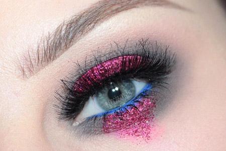 مدل آرایش رنگی چشم 11