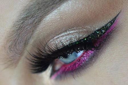 مدل آرایش چشم فصل پاییز 13