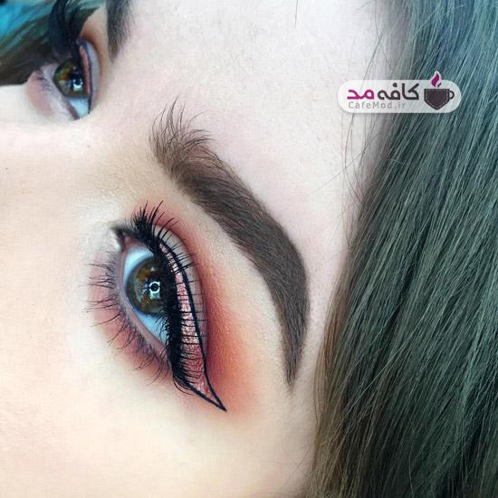 سبک نو برای آرایش چشم