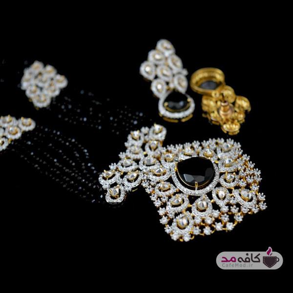 مدل گردنبند جواهر مدل گوشواره جواهر