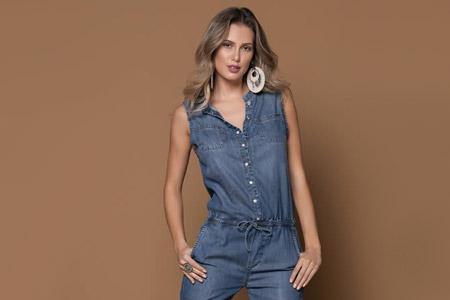 لباس جین زنانه جدید 13