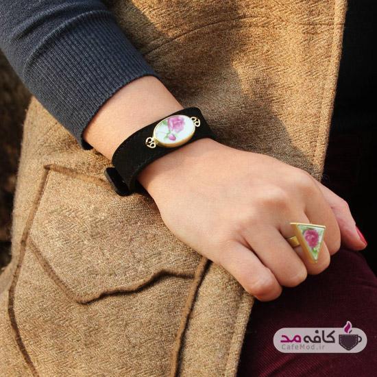 مدل دستبند گلگلی