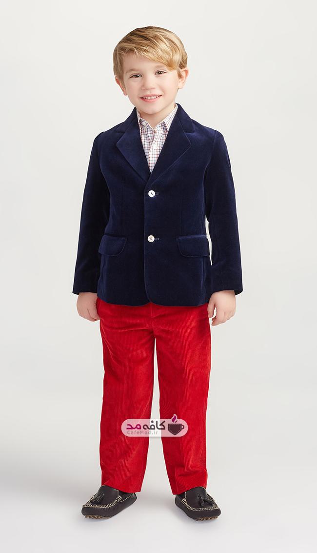 مدل لباس پسرانه Oscar De Larenta